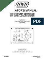 Operators Manual Series 2000