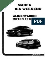 Fiat Marea Weekend sistema alimentacion bomba lucas