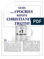 Does HYPROCRISY Refute Christianity's Truth?