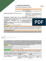 Planeación Didáctica y Plan de Clase 2012B