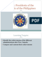 Concept Notes Philippine Presidents Past and Present
