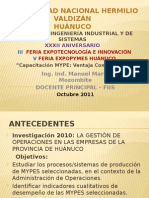 Expo Tecnología 2011