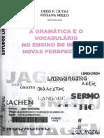 Gramática e o Vocabulário No Ensino de Inglês - Novas Perspectivas