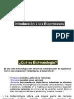 Introducción a Los Bioprocesos