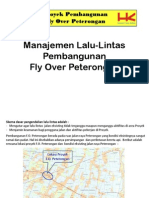 Manajemen Lalu-Lintas Fly-Over