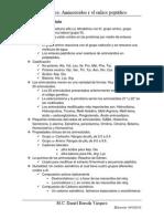 Aminoacidos y en Enlace Petidico