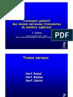 3-6 TTT Palliatif des Paralysies Tronculaires (Dr Leclercq)