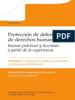 Manual Sobre La Proteccion de Defensores Vol 1