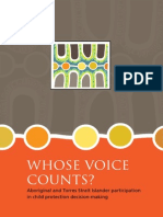 Aboriginal and Torres Strait Islander Participation in Child Protection Decision-making 2013
