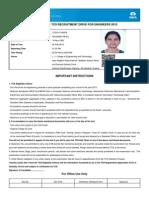 Hall Ticket PDF Serv Let