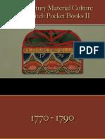 Pocket Books, Purses, Wallets - Wool Embroidered Irish Stitch 2
