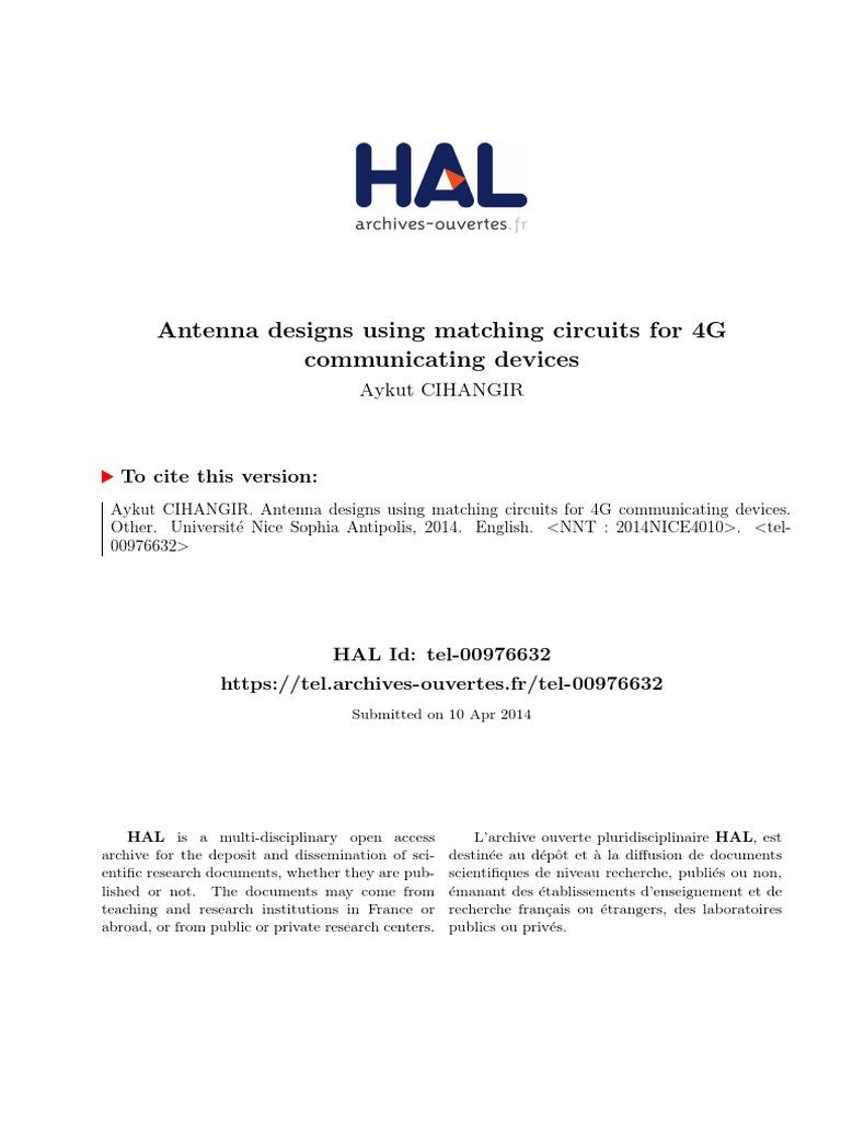 Optenni Lab Matching Circuit Generation And Antenna Analysis Software