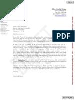 East Point Draft Letter Opposing City of South Fulton