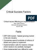 ERP6Implementation2Criticalsuccessfactors