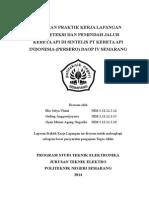 Laporan pkl  Sintelis 4.6 Smt 1.9.2014 - 25.10.2014