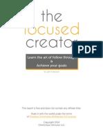 The Focused Creator