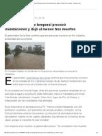 Córdoba_ Un Fuerte Temporal Provocó Inundaciones y Dejó Al Menos Tres Muertos - Lanacion