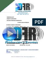 Carta Royce Chile y Bogota