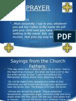 Intro to Prayer