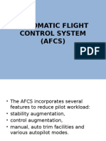 Automatic Flight Control System (Afcs)