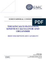 Summary Description and Capability of KinCalc June09