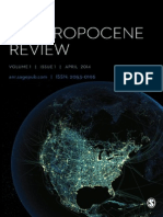 The Anthropocene Review 1 1