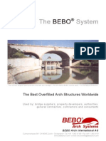 BEBO ARCH SYSTEM the Best Overfilled Arch Structures Worldwide