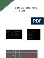 America vs Japanese TQM