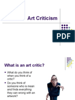 Art Criticism (1)
