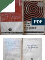 Cómo Se Llega a Ser Psicólogo 25p Prólogo y Cap. 1 (Theodor Reik)