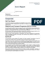 Auckland Transport Feb 15 agenda    Item 8 Master Business Report 20 February 2015