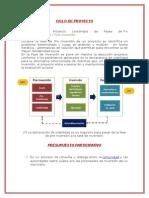 Ciclo de Proyecto-programacion de Obras