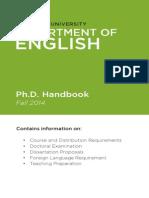 PhD Handbook 9-2-2014 English NYU