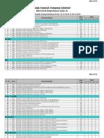 Maintenance Schedule Line-II (07~15  02 15)