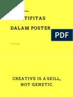 Kreatifitas dalam poster
