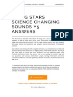 Rising Stars Science Changing Sounds y5 Answers