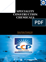 Speciality Const Chemicals