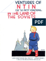 01 Tintin in the Land of the Soviets