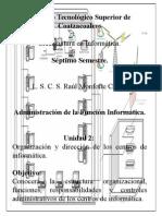 2.1 Estructura Organizacional.