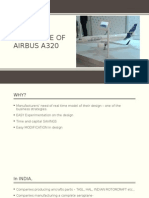 Prototype of Airbus a320