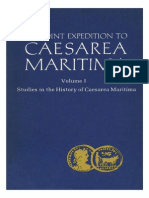 The Joint Expedition to Caesareia Maritime
