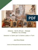 Saharan – North African – Amazigh Children's Toy Catalogs