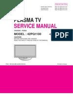 LG PD92A CHASSIS 42PQ1100 PLASMA TV SM.pdf