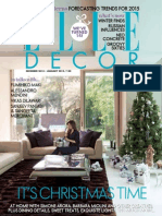 Elle Decoration India - December January 2015