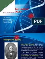 ALS Genetic disorder