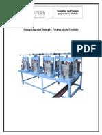 Sampling and Sample Preparation Module