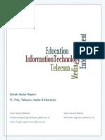 IT ITeS Telecom Media Education 2013