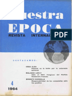 Nuestra Epoca N°4 - abril 1964 - Revista Internacional
