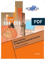 Media Guideline for Reporting on Accessible Elections