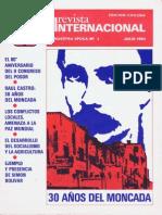 Revista Internacional. julio 1983. Nuestra Epoca N°7. Edición Chilena